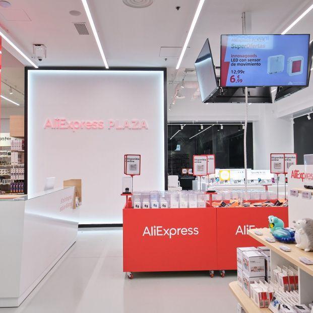 AliExpress crece en España con la apertura de su quinta tienda física. Foto: Europa Press