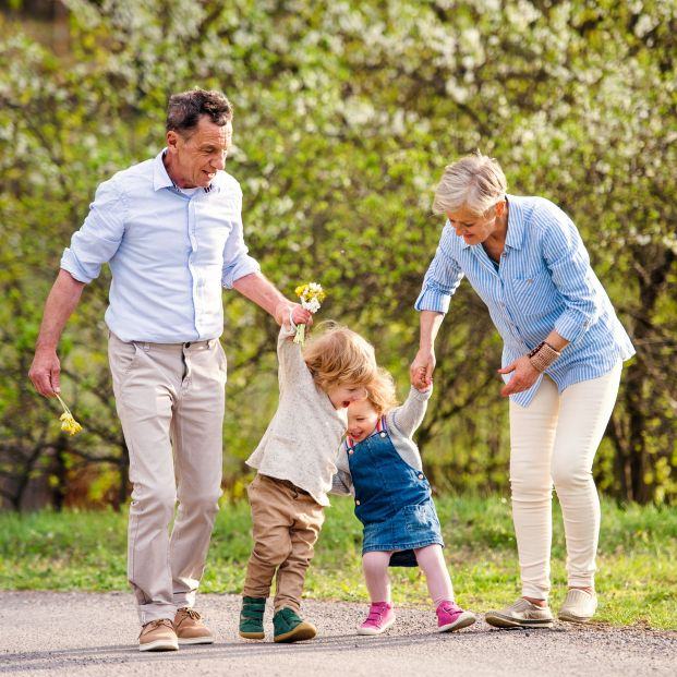 Cada vez más abuelos piden un régimen de visitas para poder ver a sus nietos