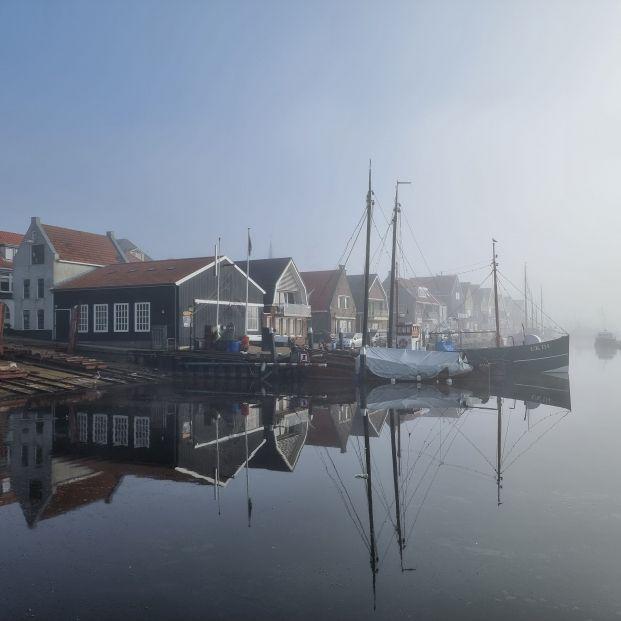 bigstock Old Harbor Of The Fishing Vill 411121777