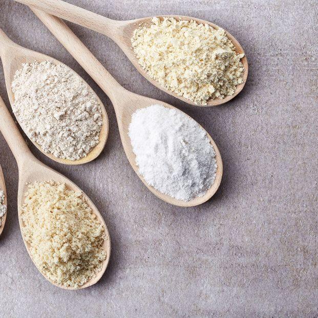Variedades de harinas y usos en la cocina