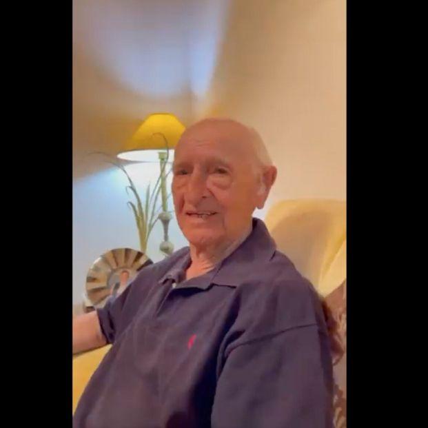 """Publica un vídeo viral para que Rafa Nada felicite a su abuelo: """"Sé que nada le haría más feliz"""""""