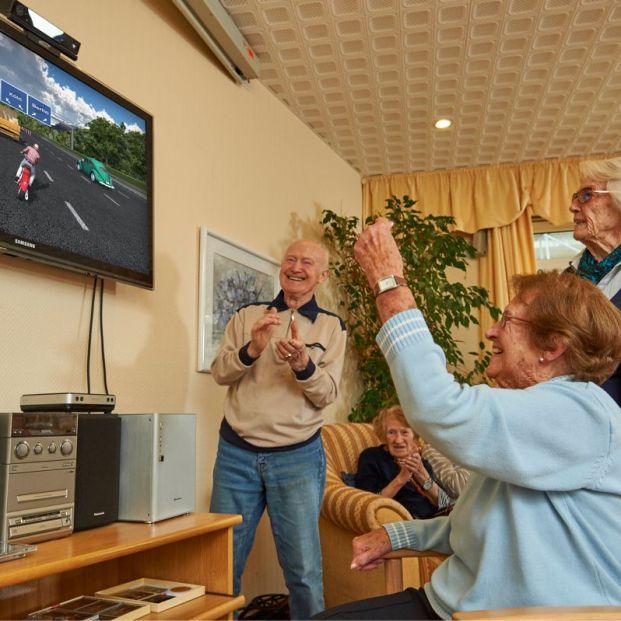 Los videojuegos llegan a las residencias de mayores de Alemania para su uso terapéutico