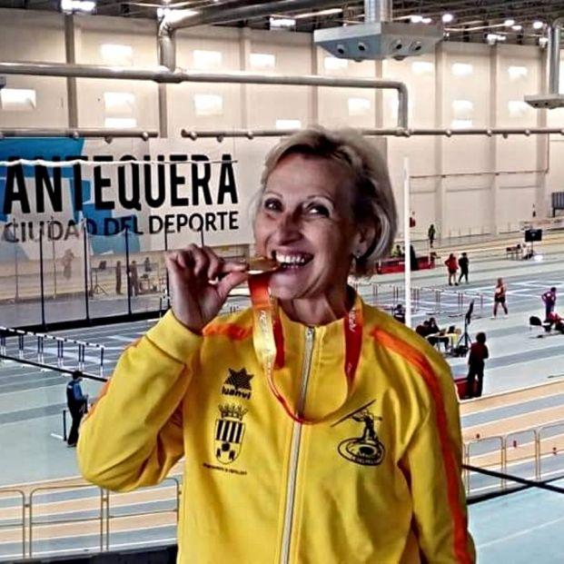 "María Teresa Ruzafa, de ama de casa a mejor atleta española máster: ""Quiero superarme día a día"""