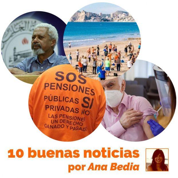 Buenas noticias del 8 de octubre: Subida de las pensiones mínimas