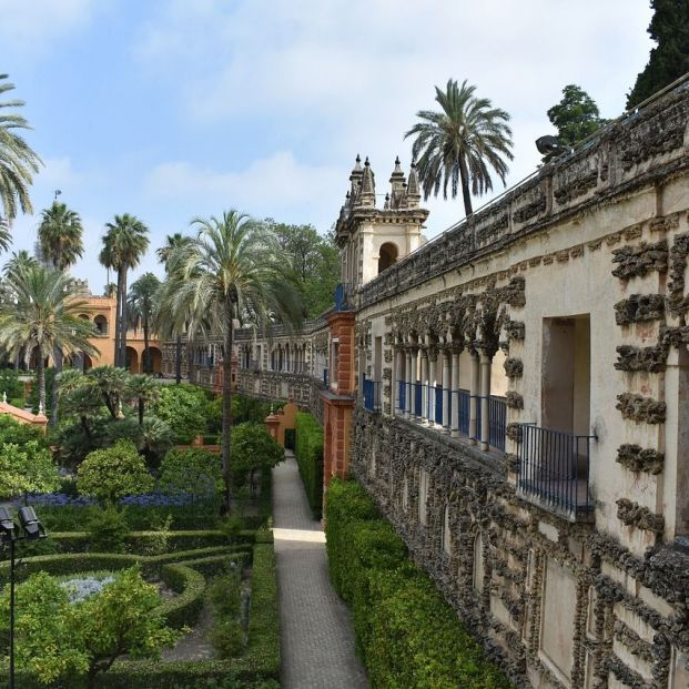 Real Alcázar de Sevilla (Creative commons)