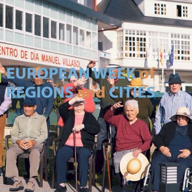 Lugo presenta su modelo de atención a las personas mayores en la Semana Europea de las Regiones. Foto: Europa Press