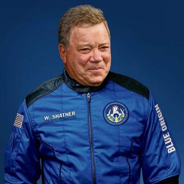 William Shatner hace historia y se convierte en la persona de más edad en ir al espacio con 90 años