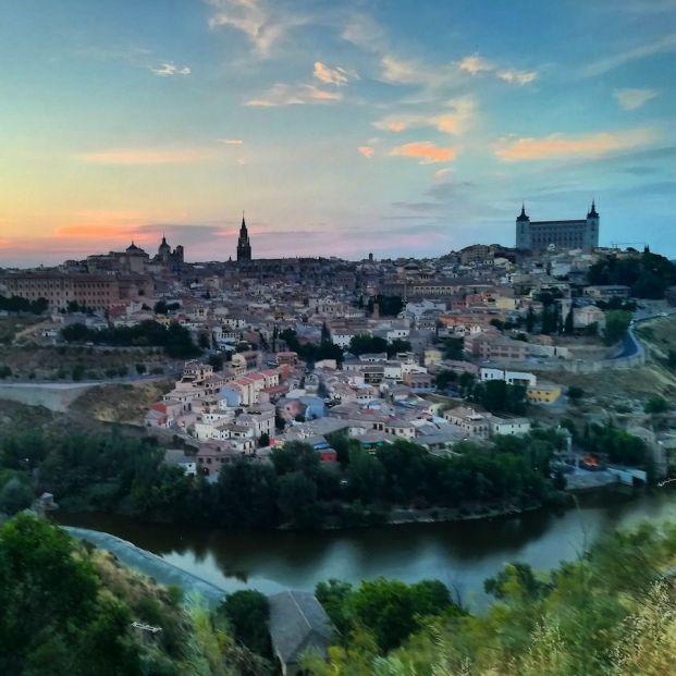 Toledo vista desde la Ermita del Valle