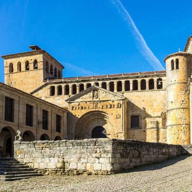 Colegiata de Santillana del Mar (Cantabria)