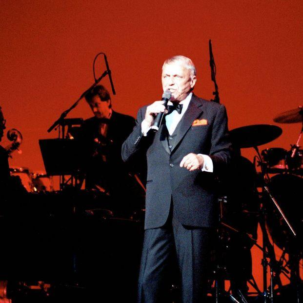 Frank Sinatra en concierto