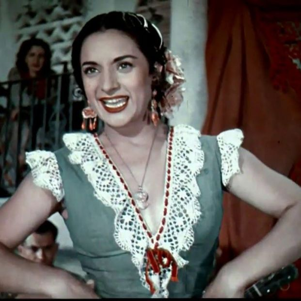 Lola Flores en 'La niña de la venta'