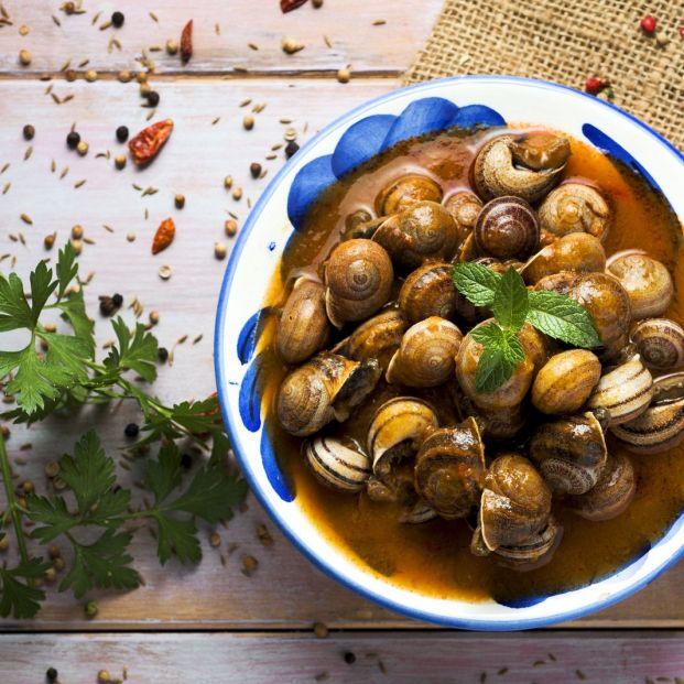Deliciosa receta de caracoles