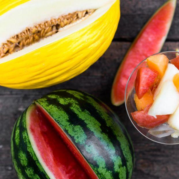 Recetas con sandía y melón