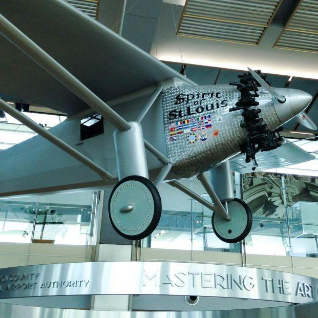 El Spirit of St. Louis de Charles Lindbergh