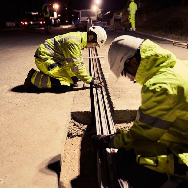 La primera carretera eléctrica ya está en marcha en Suecia