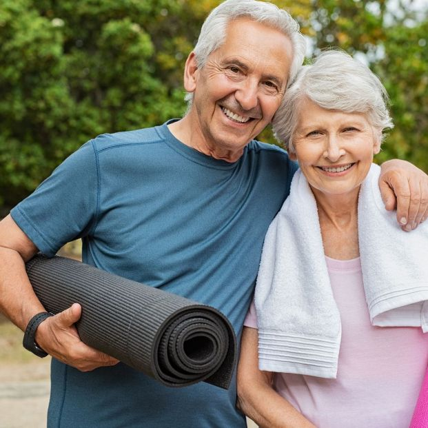 Los beneficios de acudir a un retiro de yoga  (Bigstock)
