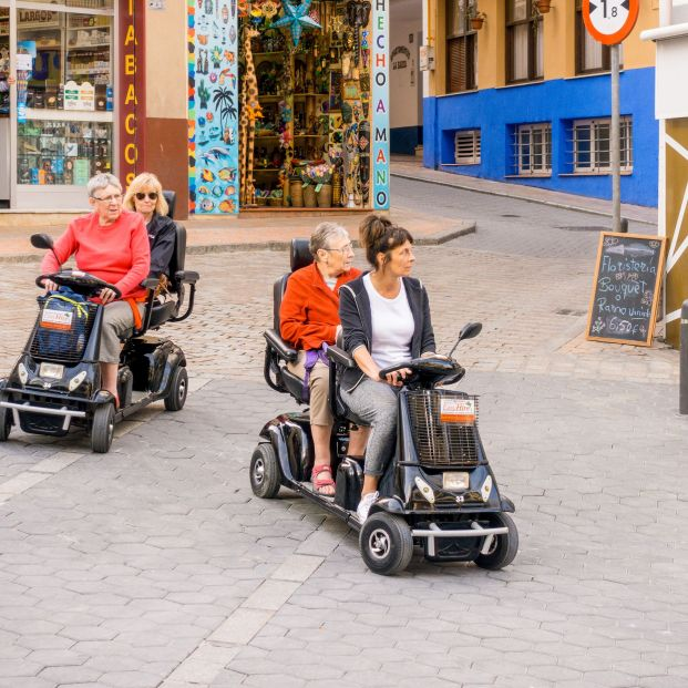 Scooters para adultos