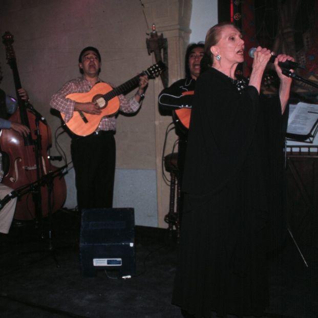 María Dolores Pradera, protagonista de algunas canciones de hace 65 años