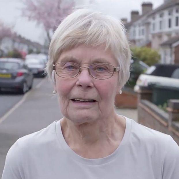 Eileen Noble participa en maratones con 84 años