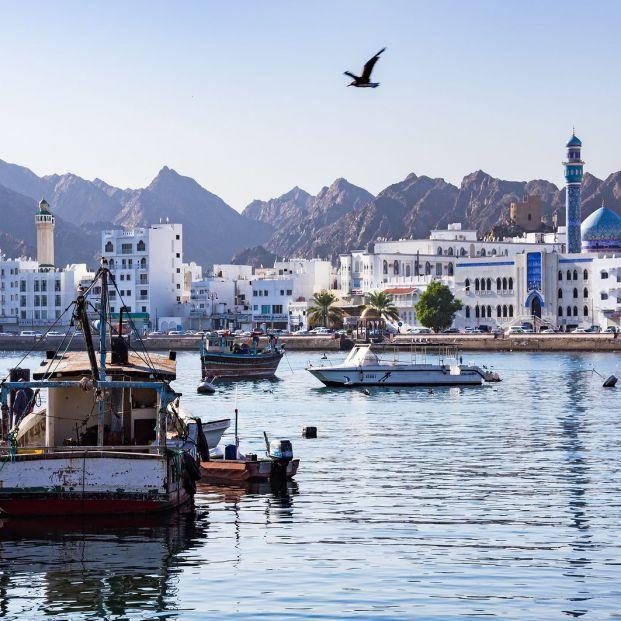 Vista de Mascate, la capital de Omán