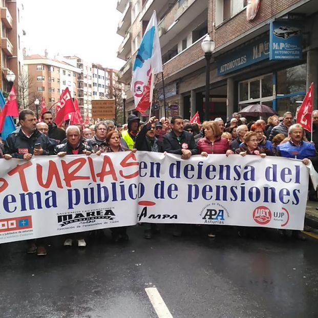 Manifestación en Asturias