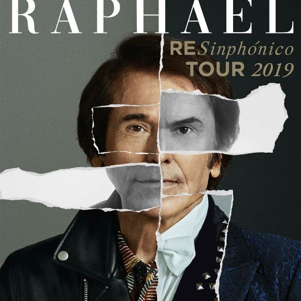 Raphael vuelve a los escenarios este 2019 con Resinphónico Tour 2019 (Ra)