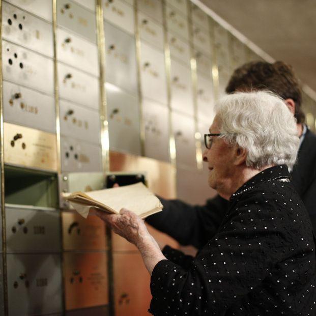 La escritora Ida Vitale en la Caja de las Letras del Instituto Cervantes
