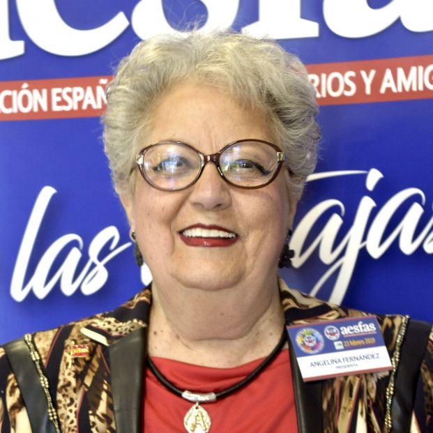 Angelina Fernández, presidenta de Aesfas
