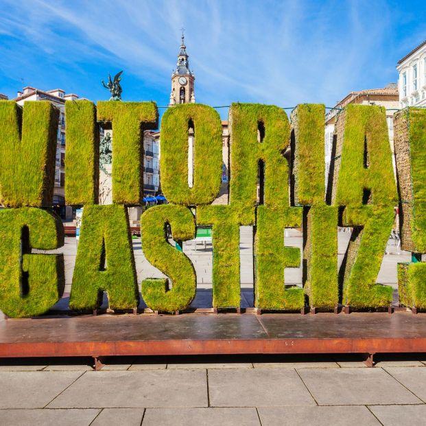 Vitoria es la ciudad de España con más zonas verdes