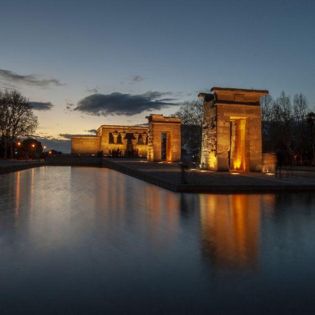Cuál es la causa por la que el Templo de Debod está en Madrid