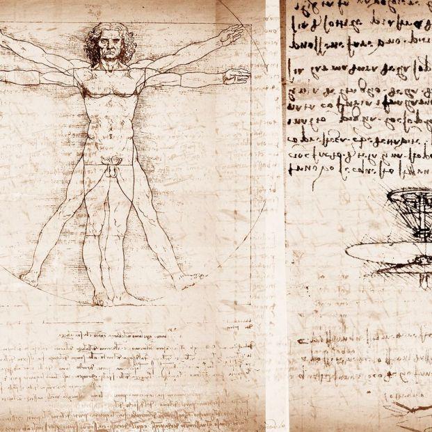 El hombre de Vitruvio de Leonardo Da Vinci (Bigstock)